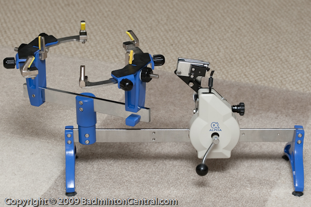 Alpha Shuttle Express Stringing Machine Review