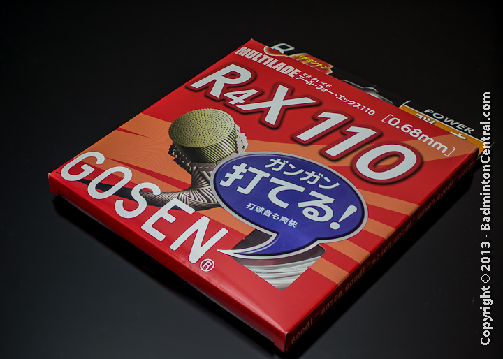 Gosen R4X 110 Badminton String Review