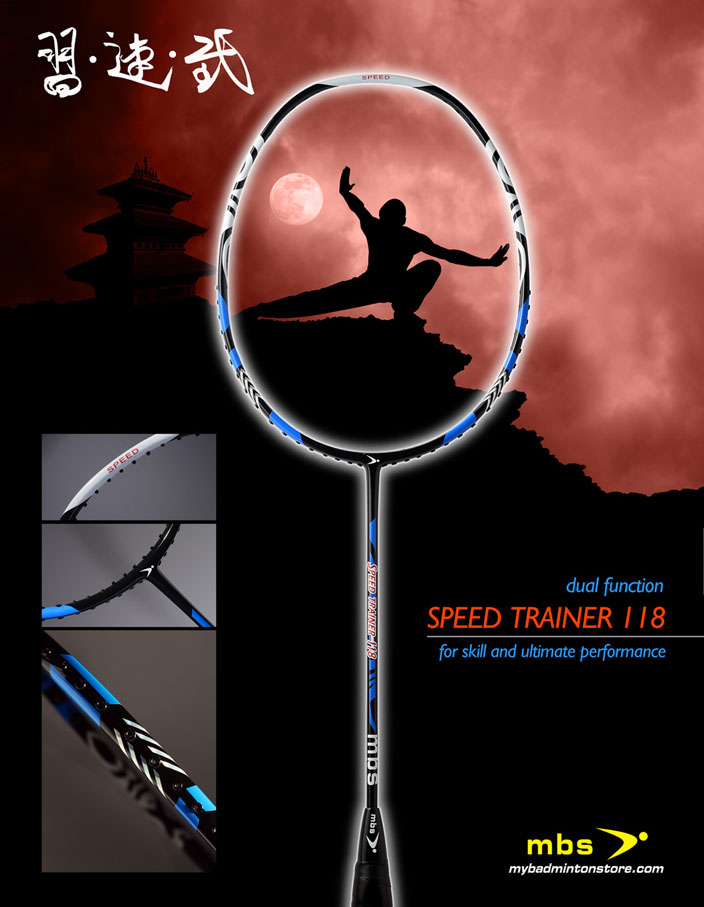 MBS Speed Trainer 118 Badminton Racket Review