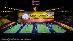 Designing a badminton hall