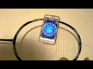 Monitoring your racquet string tension