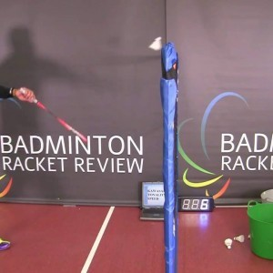 KAWASAKI TONALITY 8 SPEED BADMINTON RACKET COURT TESTED! - YouTube