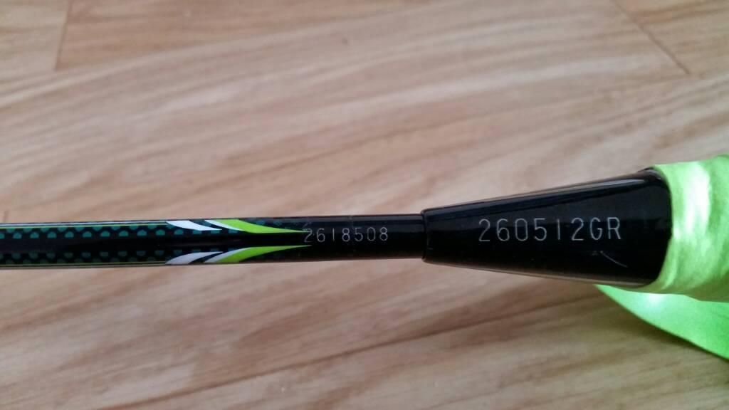 FS: - Yonex Nanospeed 9900 Special Edition ( Green ...
